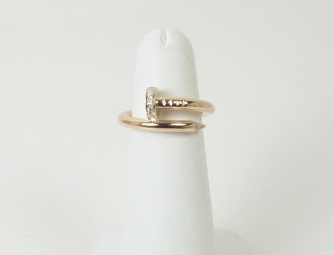 """Juste un Clou"" ring by Cartier"