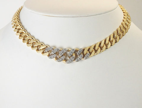 Vintage Cartier diamond necklace