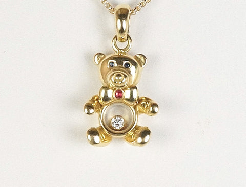 "Chopard ""Happy Diamonds"" teddy bear"