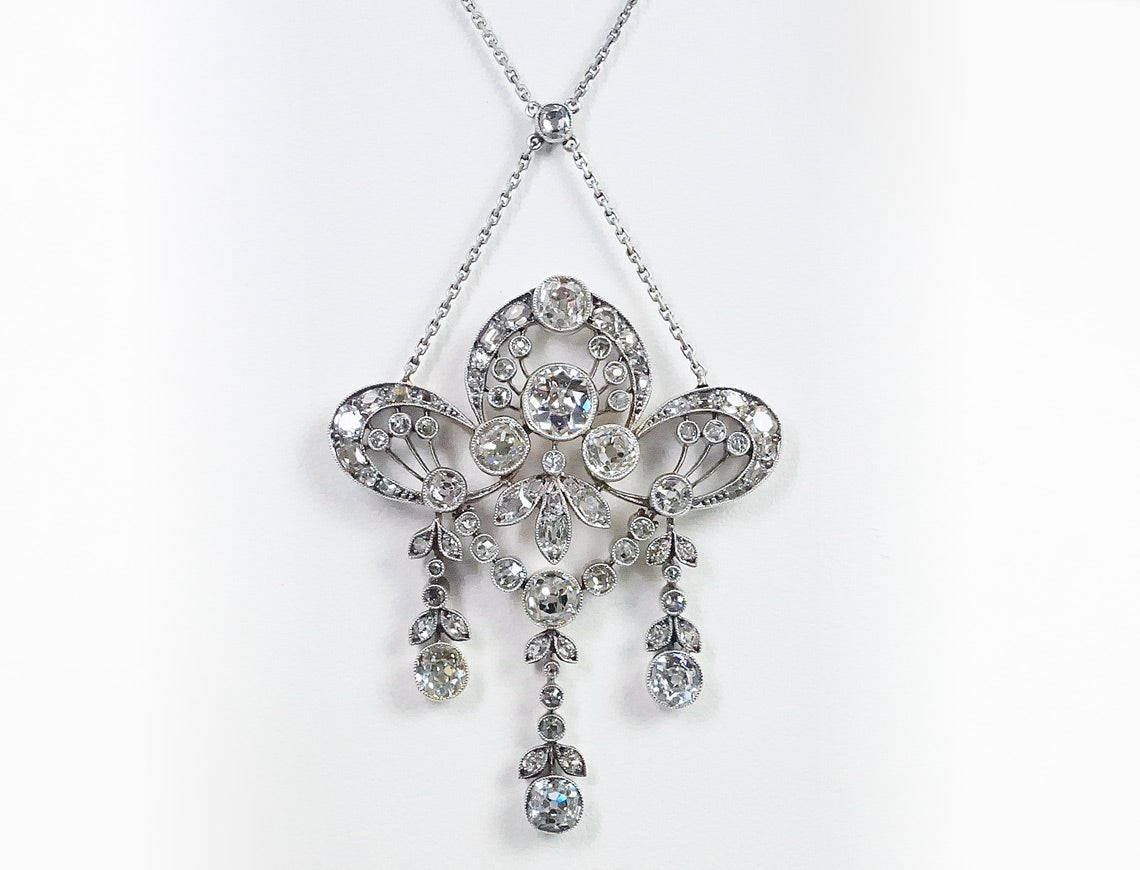 Spectacular Edwardian necklace