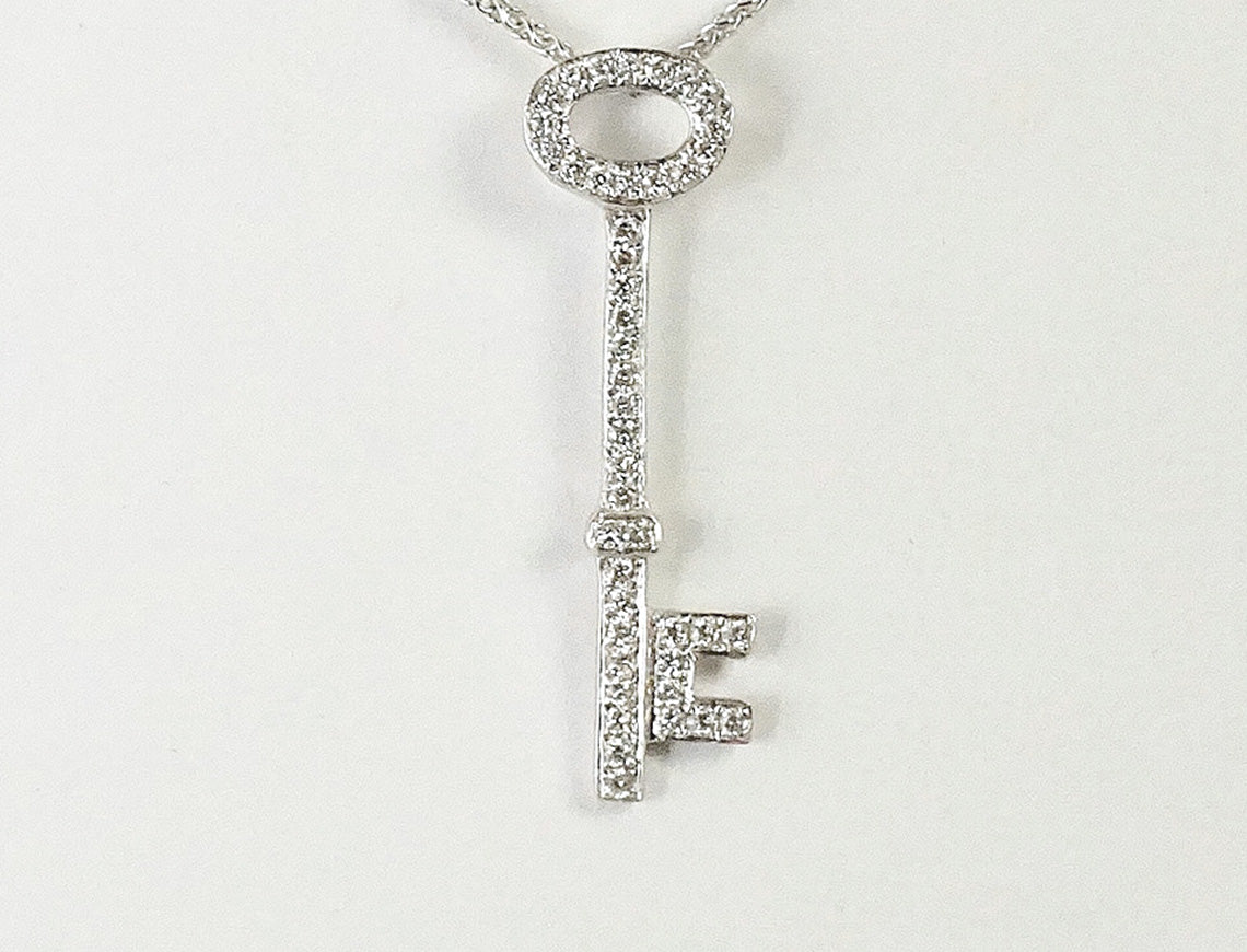 Tiny diamond key