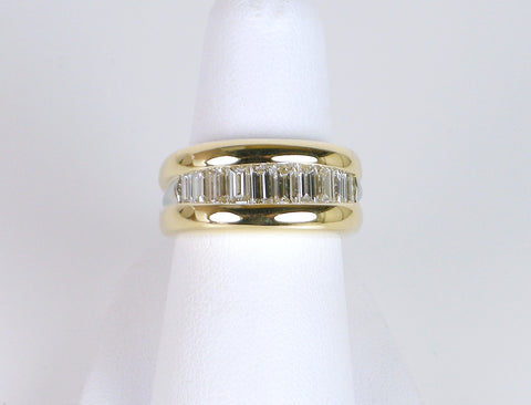 Diamond wedding band by JFA