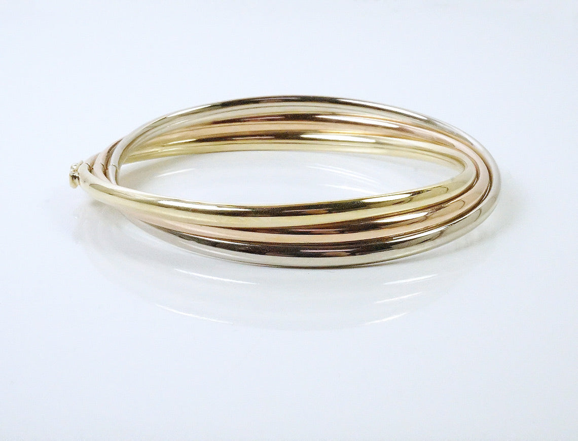 Tri-colored bangle