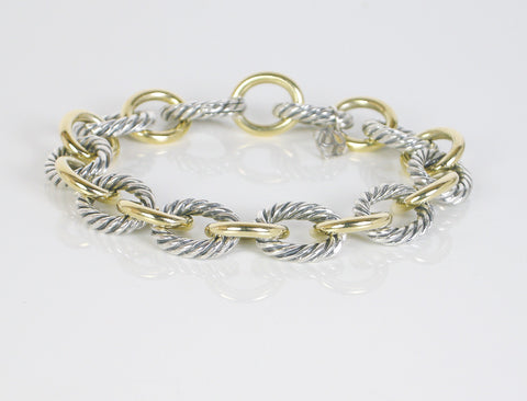 """Oval"" bracelet by David Yurman"
