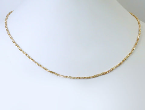"22"" tinsel chain"