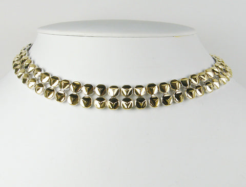 Reversible necklace by Chimento