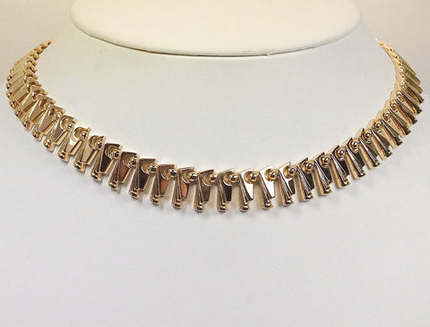Retro-Art Moderne necklace