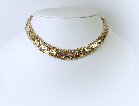 Byzantine link necklace