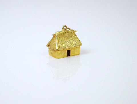 Little grass shack charm