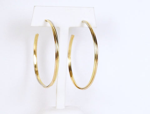 Big Hoops by Cartier