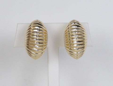 Retro clip earrings by Cartier