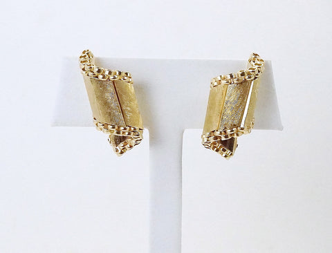 Fun clip earrings