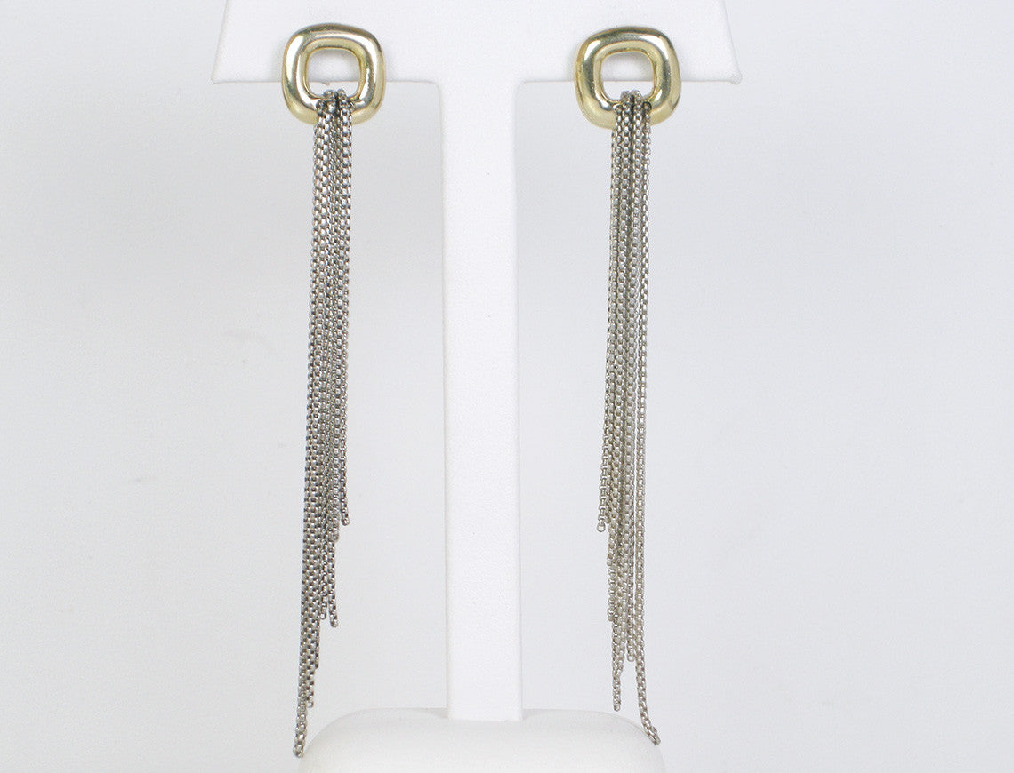 Tassel earrings by David Yurman