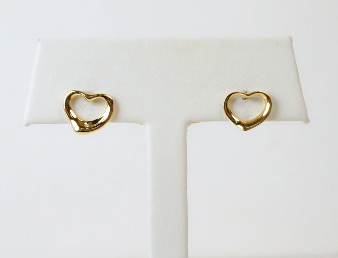 Floating Heart earrings by Peretti for Tiffany