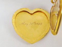 Vintage locket from 1905