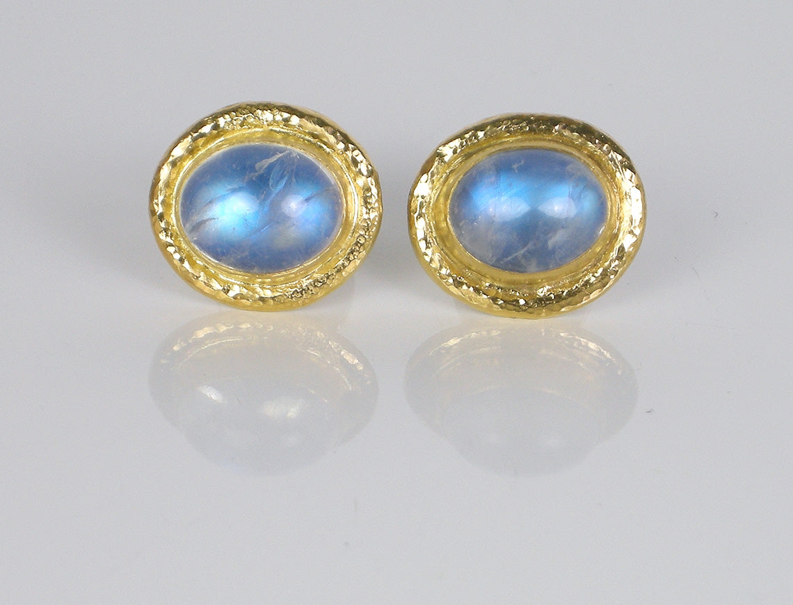 Moonstone cufflinks by Gurhan