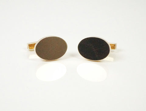 Classic gold cufflinks by Tiffany