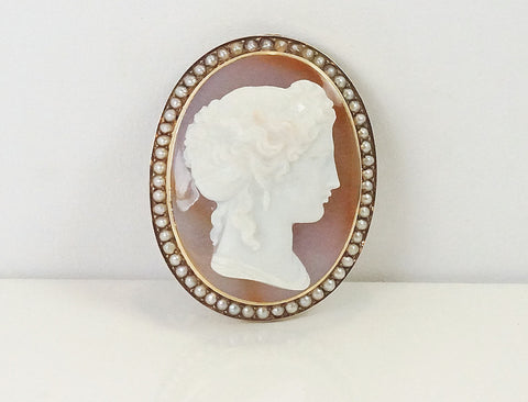 19<sup>th</sup> Century agate cameo