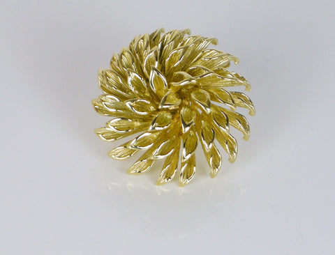 Chrysanthemum brooch by Tiffany & Co.