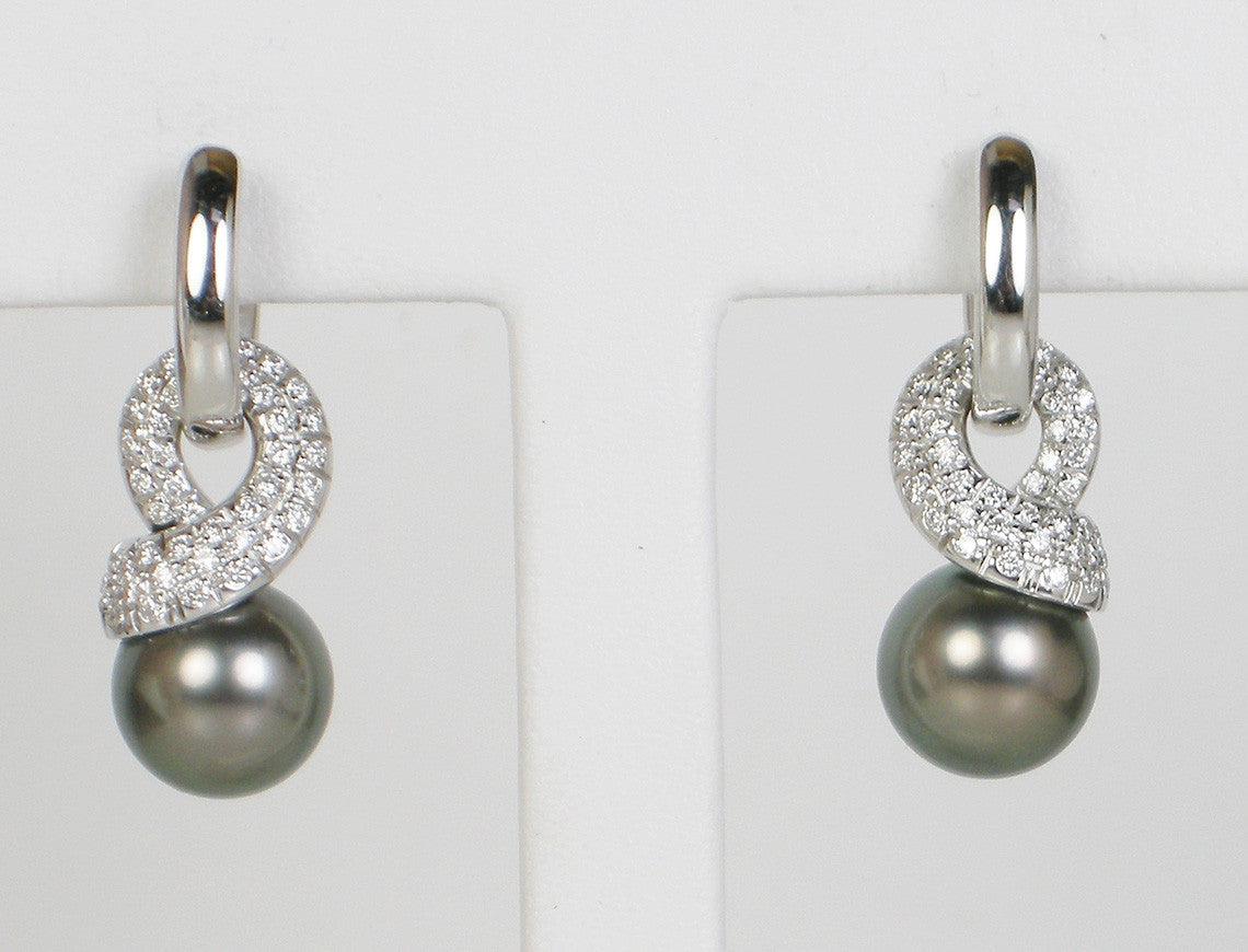 com earrings pearl mikimoto cultured londonjewelers sku sea s black south