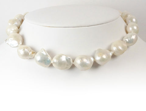 15mm baroque fresh water pearls