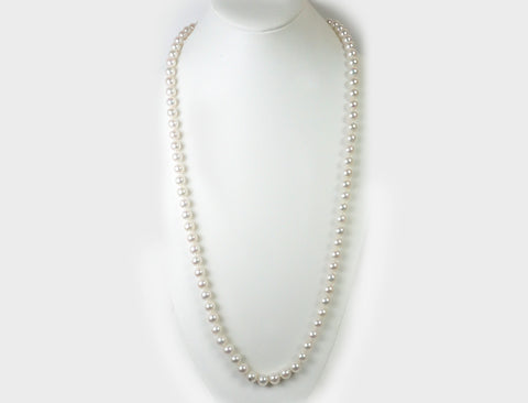 Opera-length pearls by Mikimoto
