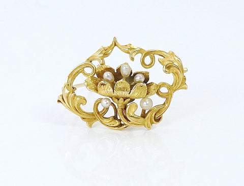 Beautiful Art Nouveau brooch