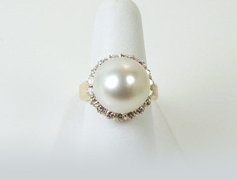 13.7 mm South Sea pearl