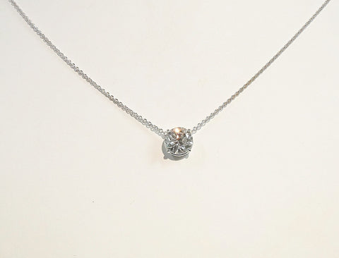 2.36 carat diamond pendant