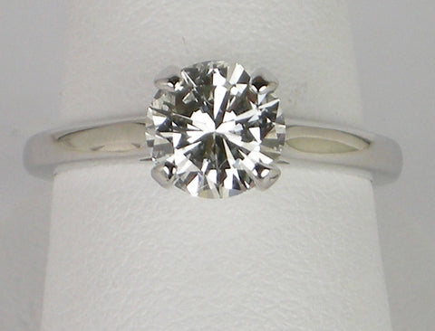 1.28 carat G VS1 Solitaire Diamond Ring