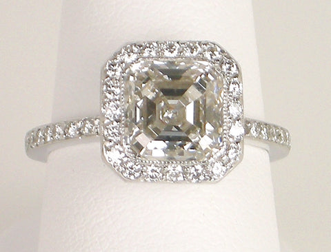 2.50 Asscher cut diamond
