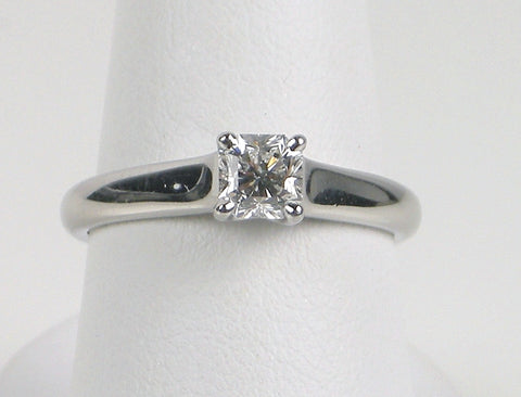 """Lucida"" solitaire by Tiffany and Company"