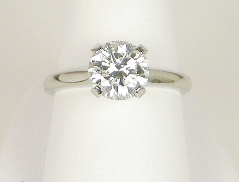 2.17 carat round brilliant diamond