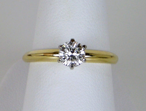 Diamond solitaire for $1750