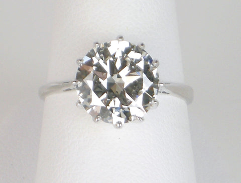 2.94 carat European Cut diamond