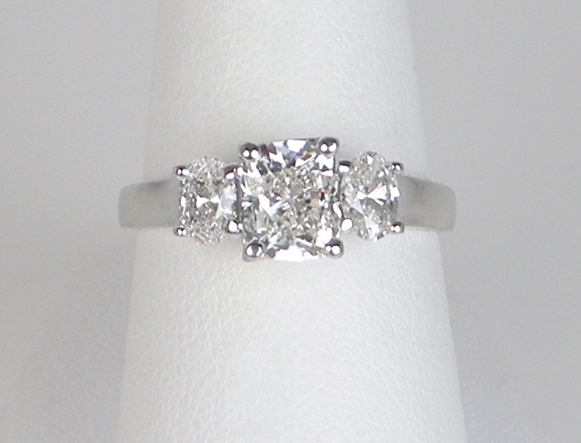 1.20 carat cushion-cut diamond