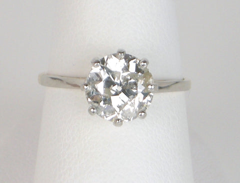 1.74 Carat European Cut for Great Price