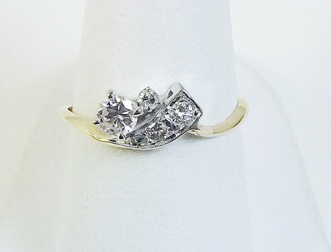 Vintage 1950s engagement ring