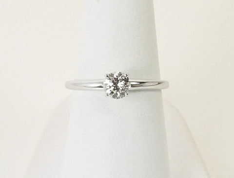.43 carat diamond solitaire ring