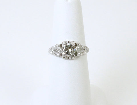 Vintage platinum ring