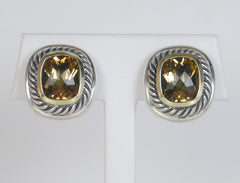 """Albion"" citrine earrings by Yurman"