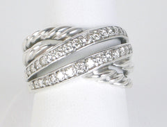"""Crossover"" ring by David Yurman"