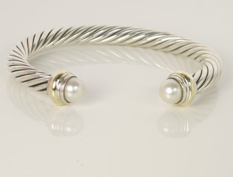 Silver and gold classic cable by Yurman