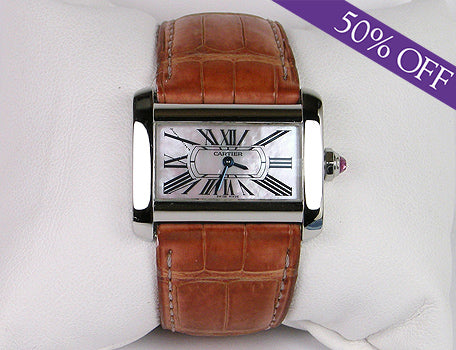 Cartier mini Tank Divan - ORIGINAL PRICE: $4150