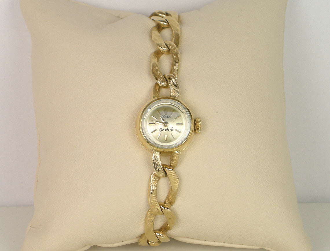 "Vintage Rolex ""Orchid"" dress watch"