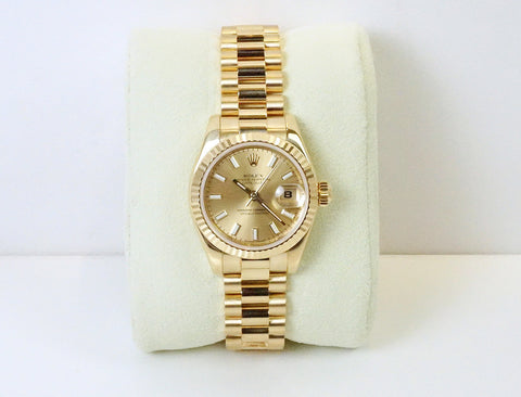 Rolex LadyDate watch