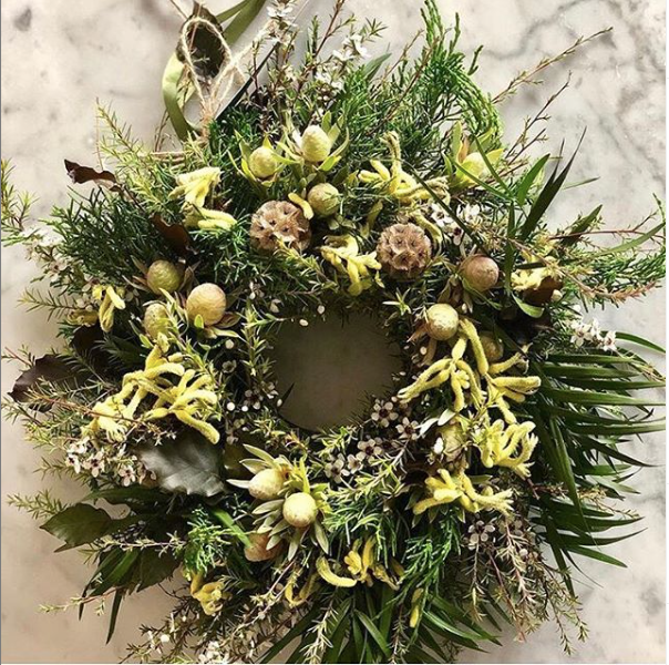 Large Fresh Christmas Wreath