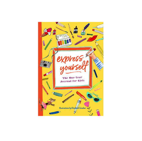 express yourself a one year journal for girls