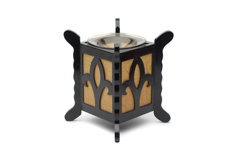 WOODED STLE ELECTRIC OIL LAMP BURNERS