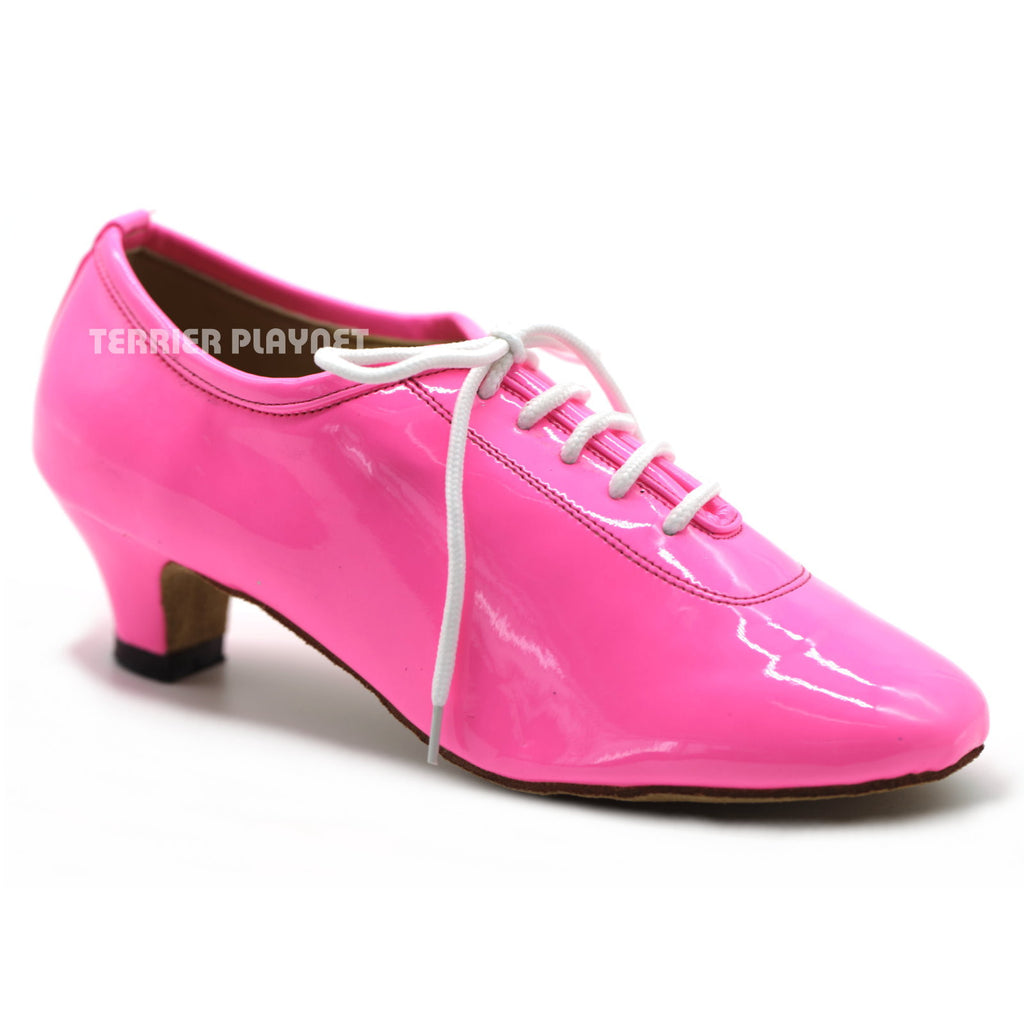 Pink  Women Dance Shoes D1008 UK3/US5.5/EU35.5 2 Inches/ 5cm Heel